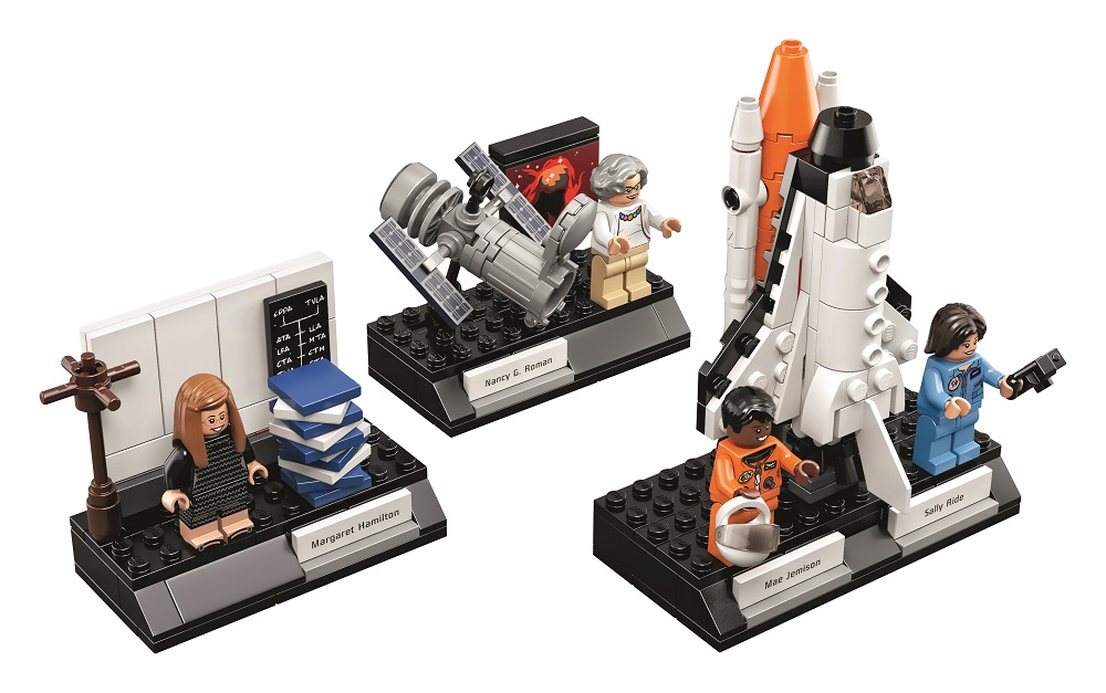 Lego lanza su colección de mujeres olvidadas en la historia de la NASA
