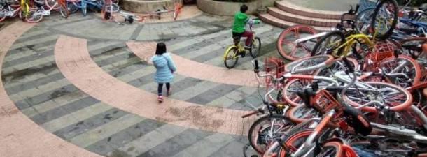 Las bicicletas chinas que vienen a ocupar nuestras ciudades