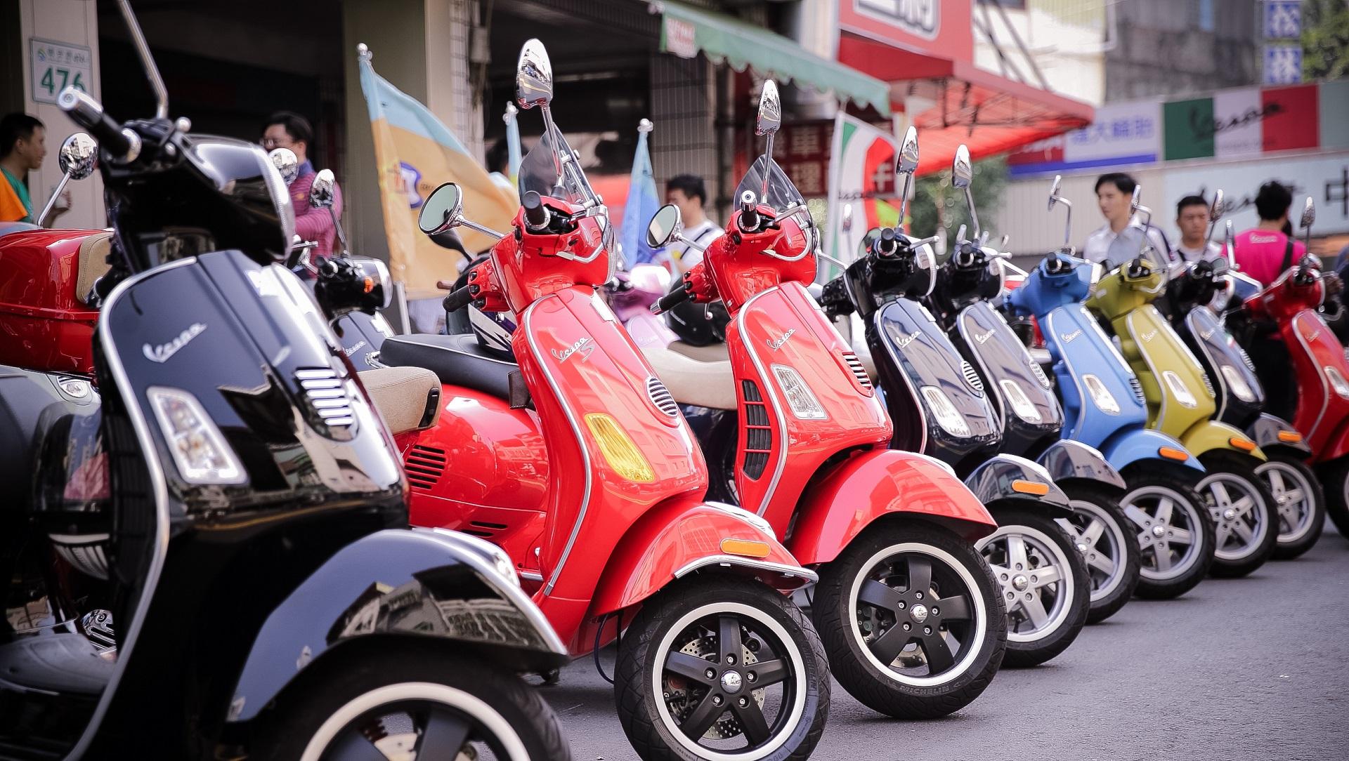 La mítica Vespa tendrá su primera scooter eléctrica en 2018