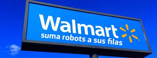 Walmart ya tiene robots como empleados