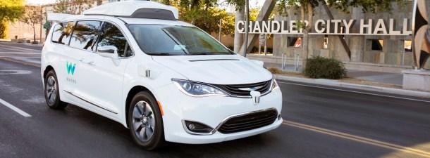 Los coches autónomos de Waymo ya pueden llevar pasajeros en California