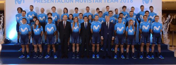 Internet de las Cosas acompañará al Movistar Team 2018