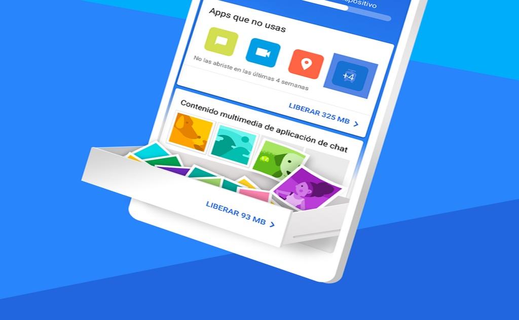 Google libera espacio por ti en tu Android