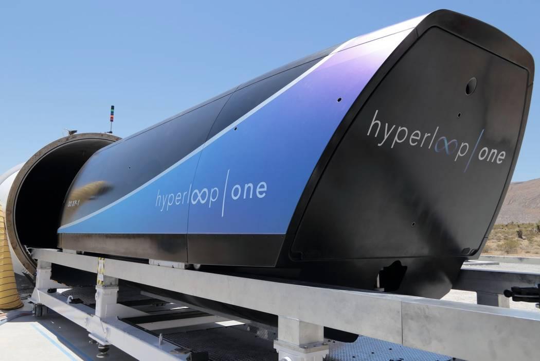 Hyperloop supera sus propios récords alcanzando los 386 km/h
