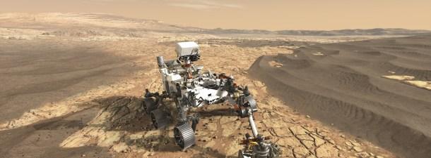 Este es el robot de la NASA que buscará rastro de vida en Marte