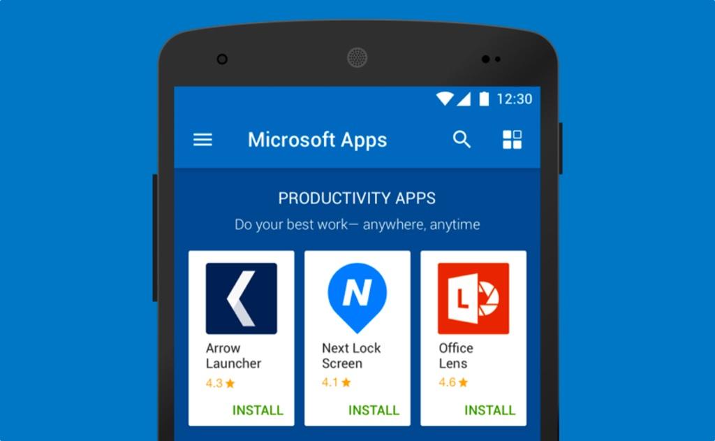 Las apps de Microsoft para Android que deberías probar