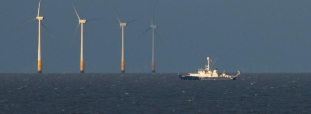 Así es la granja eólica sobre el mar del Norte que abastecerá a seis países