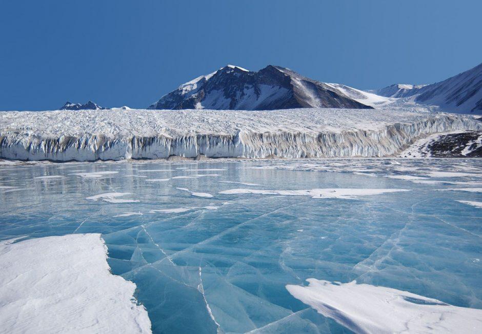 Los microbios de la Antártida que se alimentan del aire