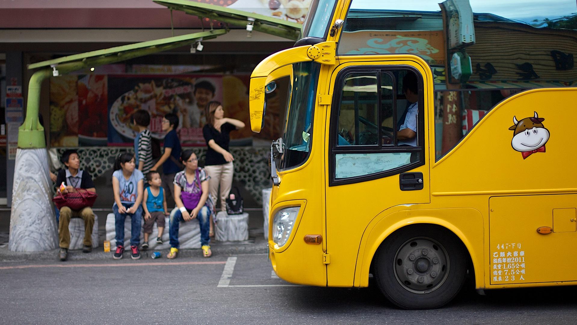 Shanghái instala la primera parada de autobús impresa en 3D