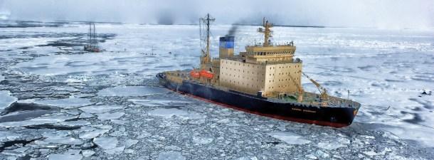 Rusia desarrolla la primera tecnología de comunicación bajo el hielo del Ártico