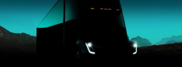 El Tesla Semi hace su primer viaje real transportando carga