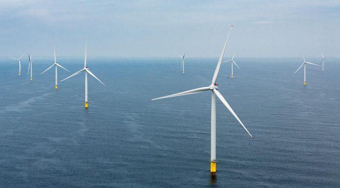 Así será la mayor turbina eólica marina del mundo