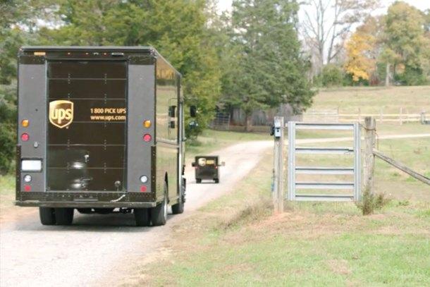 Camiones eléctricos de UPS