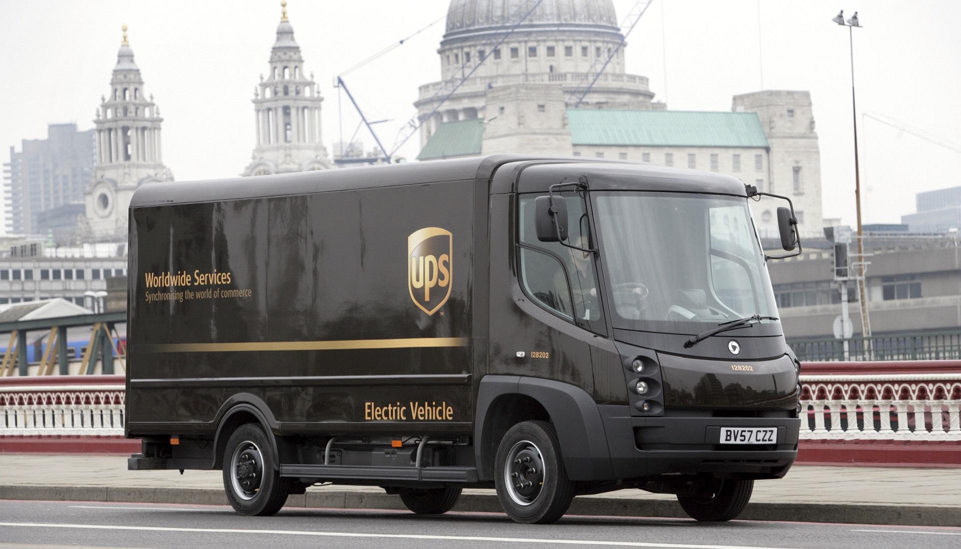 UPS empieza a electrificar su flota de camiones