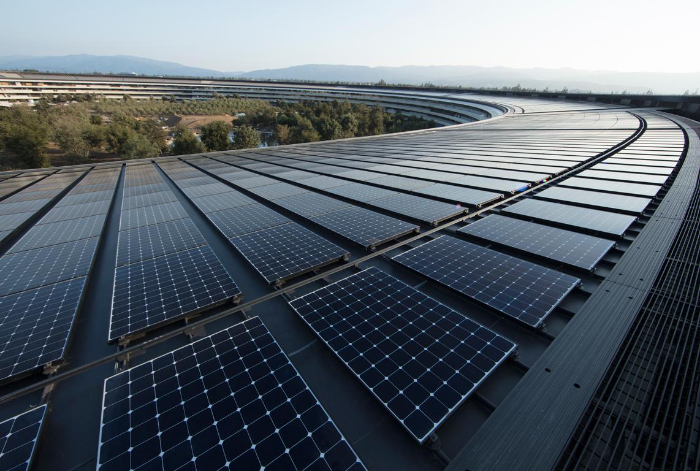 Apple ya solo funciona con energía renovable