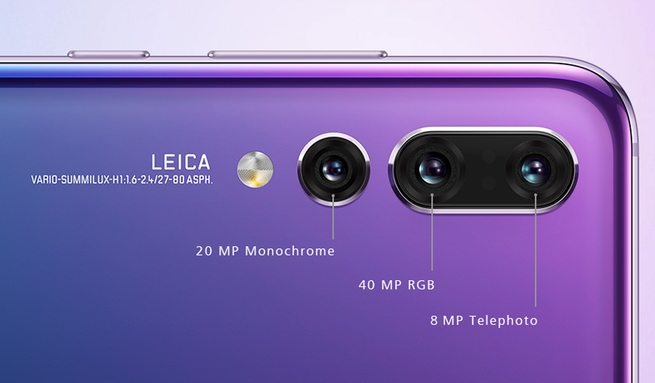 Así funciona la triple cámara del Huawei P20 Pro
