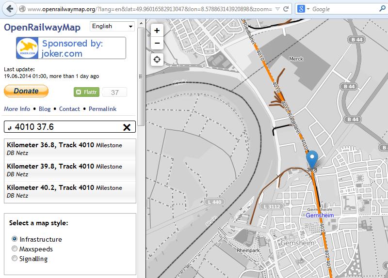 El Google Maps de los trenes te permite conocer la velocidad y las rutas ferroviarias
