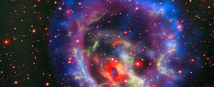 Encuentran la primera estrella de neutrones aislada fuera de la Vía Láctea