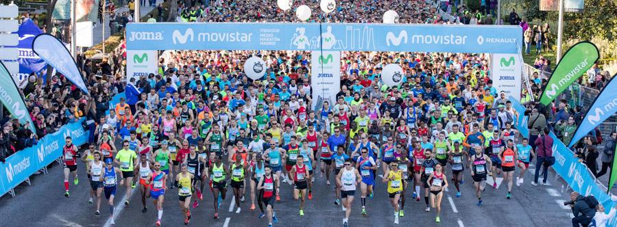 """Movistar Medio Maratón de Madrid: todos los pasos de una carrera """"conectada"""""""