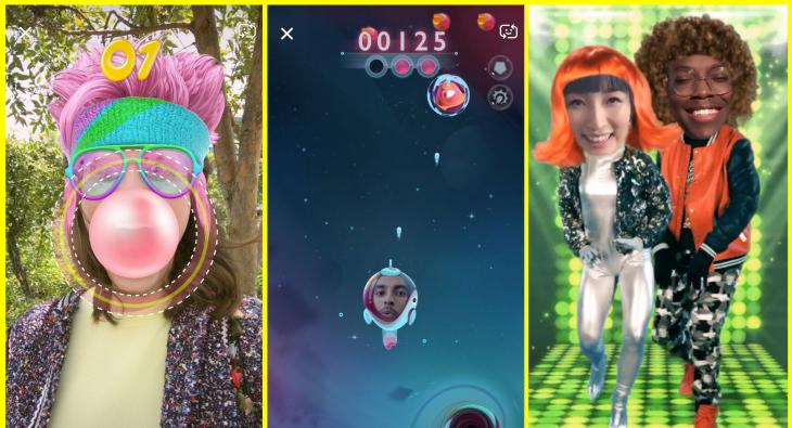 Snapchat se reinventa apostando por los juegos de realidad aumentada
