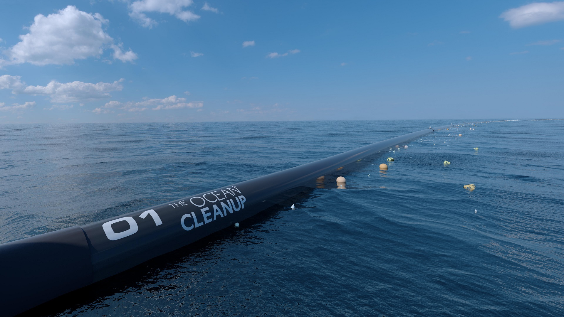 Ese es el primer intento de reducir el continente de plástico