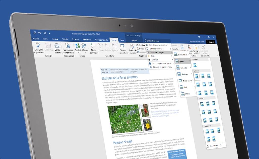 Qué puedes hacer con Combinar y Comparar documentos de Word