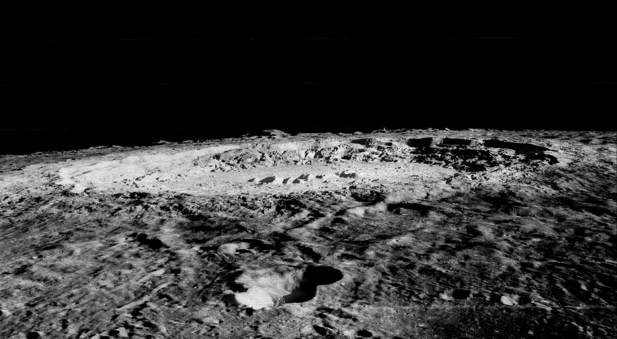 Los temblores que encogen la Luna