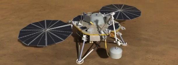 La NASA lanza la nave 'InSight', una sonda con toque español para analizar Marte
