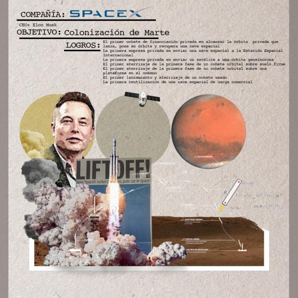 carrera espacial Space X