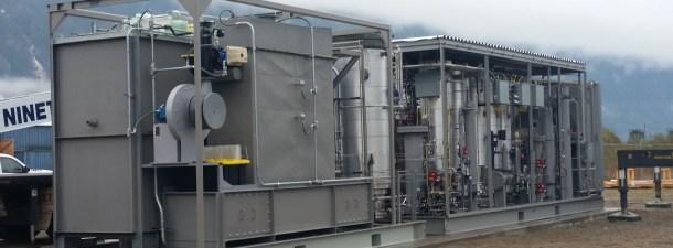 Esta planta piloto convierte de forma eficiente el CO2 en combustible