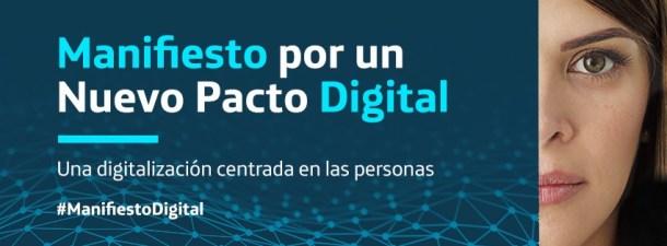Un nuevo Pacto Digital que sitúa a las personas en el centro de la acción