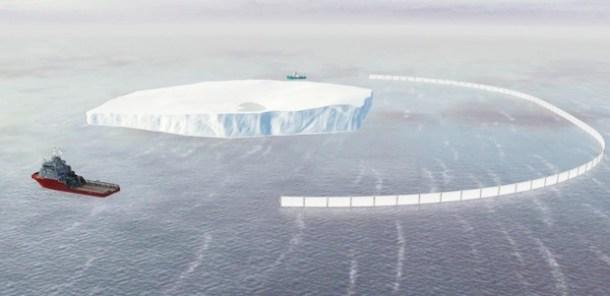 Hielo Antártida Sudáfrica