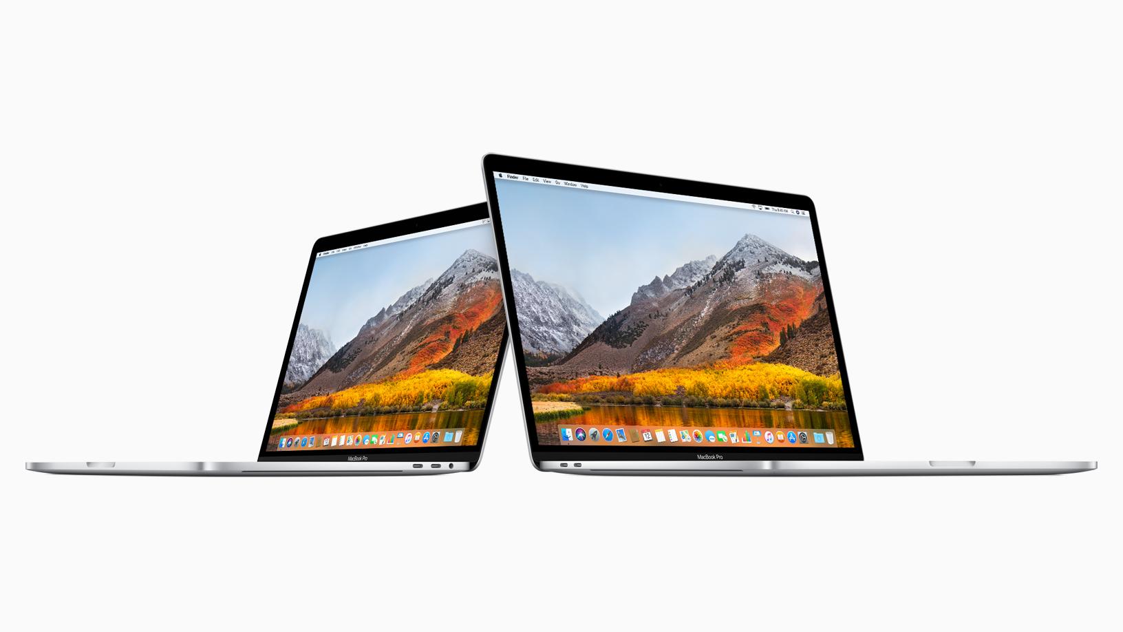 Apple soluciona el problema de rendimiento de los MacBook Pro 2018