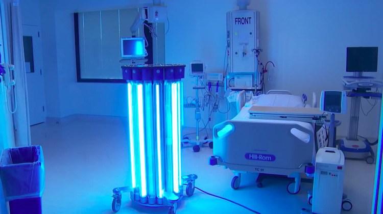 Luz ultravioleta para acabar con las bacterias de los hospitales