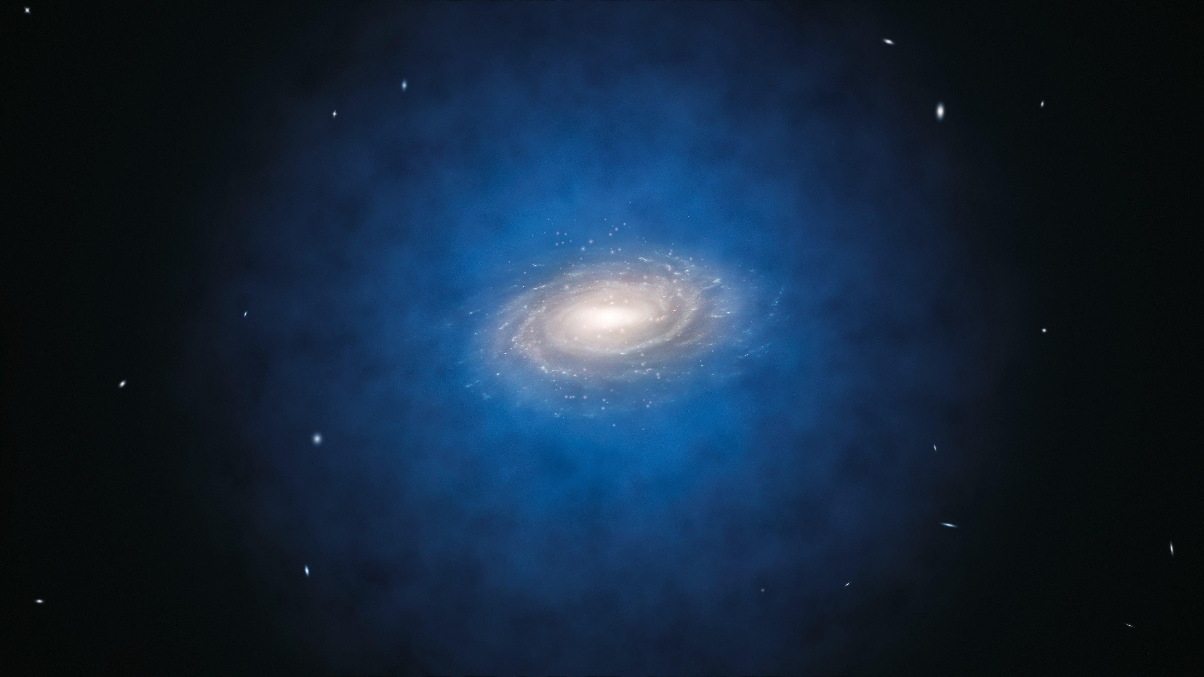 Observaciones del Universo reafirman la existencia de materia y energía oscura
