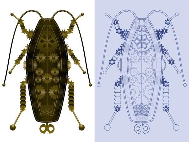 cucaracha robótica
