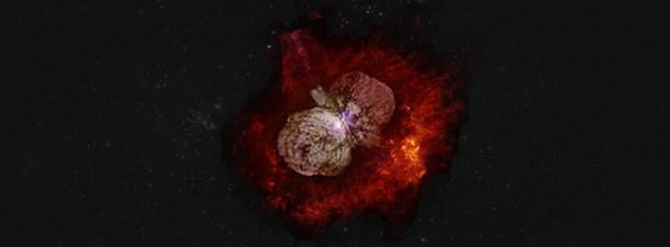 Eta Carinae, el sistema estelar que dispara rayos cósmicos en dirección a la Tierra