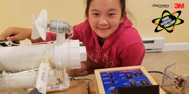 Anna Du plástico 3M Young Scientist Challenge