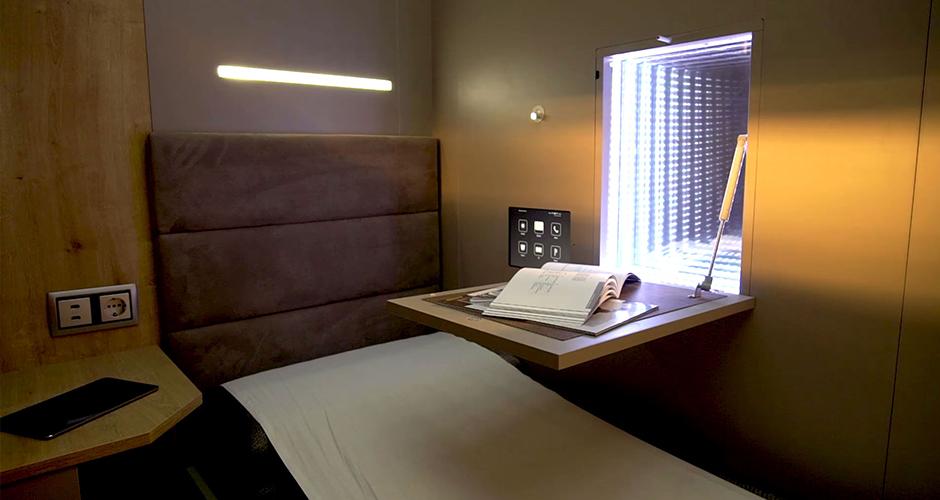 Napbox siesta descanso habitación inteligente interior