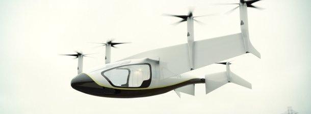 """Rolls-Royce muestra su concepto de """"coche volador"""""""