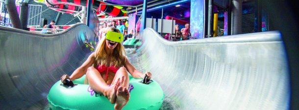 La realidad virtual que te lleva de un parque acuático a otro universo