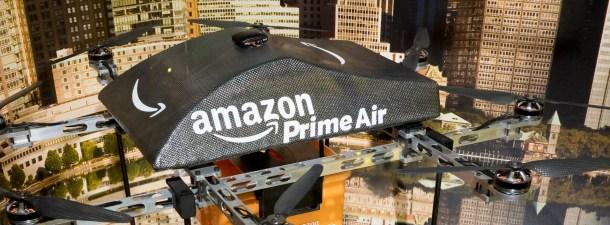 Amazon quiere blindar sus futuros drones contra hackeos