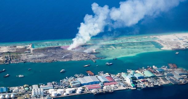 océanos contaminación plásticos mar dióxido carbono fábricas