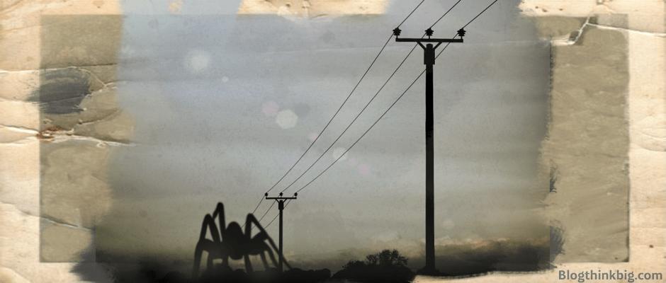Arañas capaces de volar utilizando la electricidad de la atmósfera