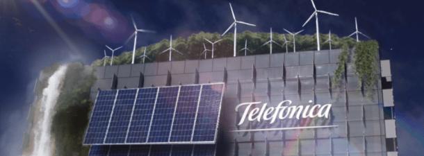 Telefónica superará a final de año su objetivo de ser 50% renovable