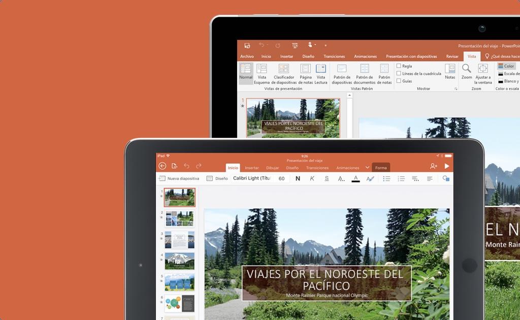 Controla tus presentaciones PowerPoint desde iPhone y Android