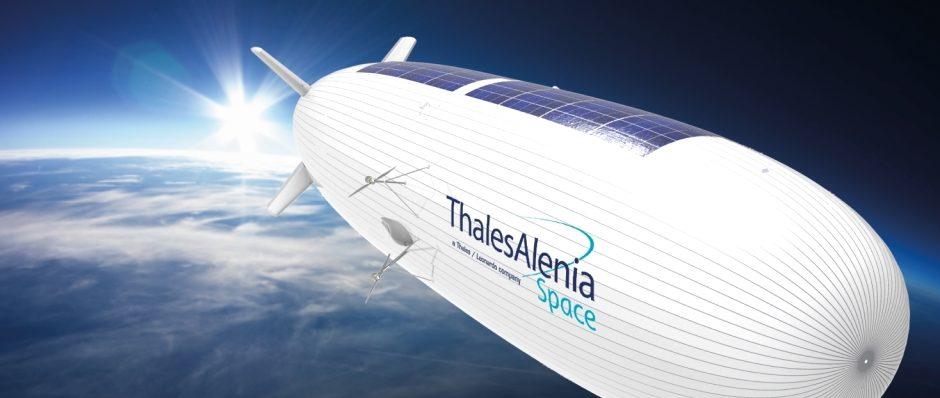 Stratobus, una fusión perfecta entre dron y satélite