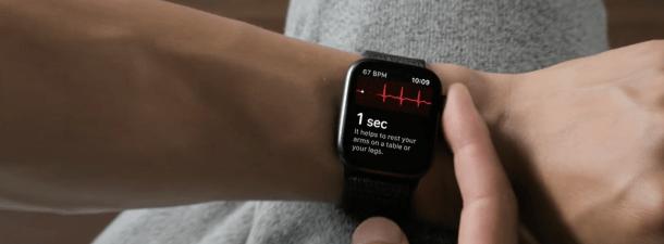 La función de electrocardiogramas del Apple Watch ya está disponible