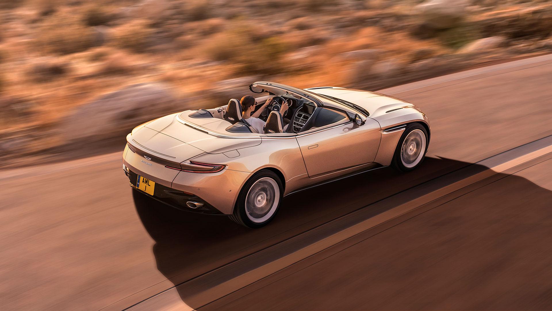 Así será el primer Aston Martin eléctrico