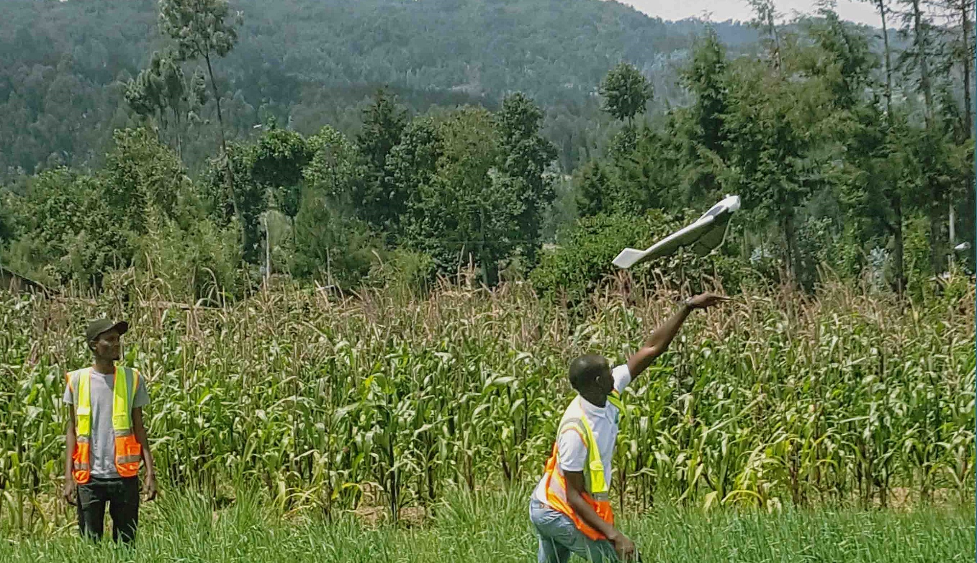 El uso de drones en África podría paliar la deficiencia de infraestructuras